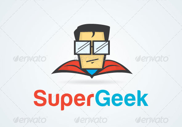 Super Geek Logo