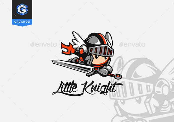 Little Knight logo