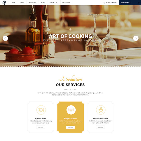 Pear - Hotel & Resturant Template