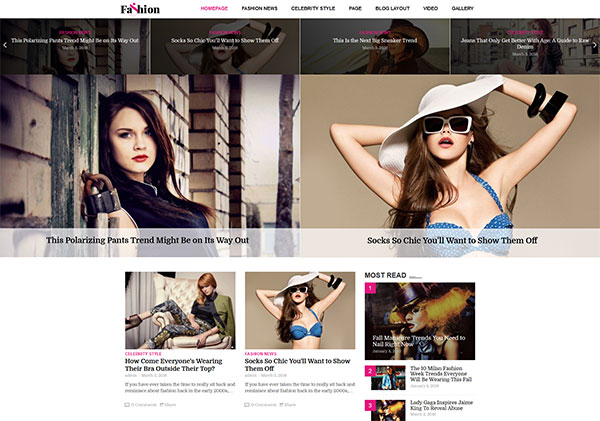 AmyNews - News Magazine Fashion Game Sport Theme