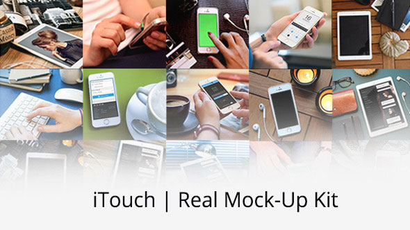 iTouch | Real Mock-Up Kit