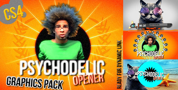 Colorful Graphics Package - Psychedelic Opener