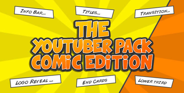 The YouTuber Pack - Comic Edition