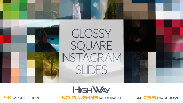 Glossy Square Instagram Slides
