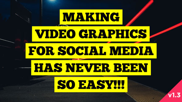 Social Media Video Graphics