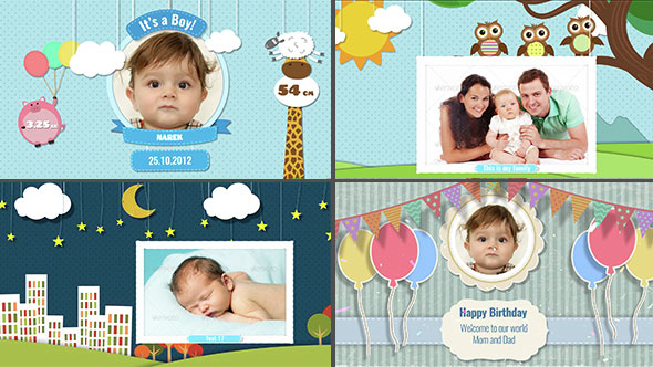 Baby Photo Album - Birthday