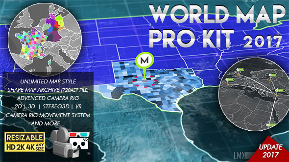 World Map Pro Kit