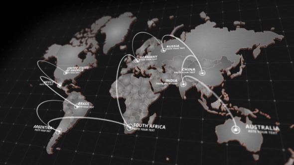 20 Stunning Animated Map After Effects Templates | AE