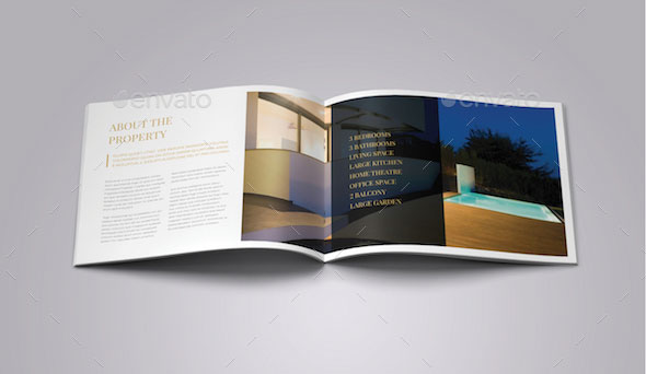 Luxury Brochure/ Hotel, Property Catalog