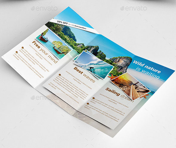 Travel / Holiday Trifold Brochure