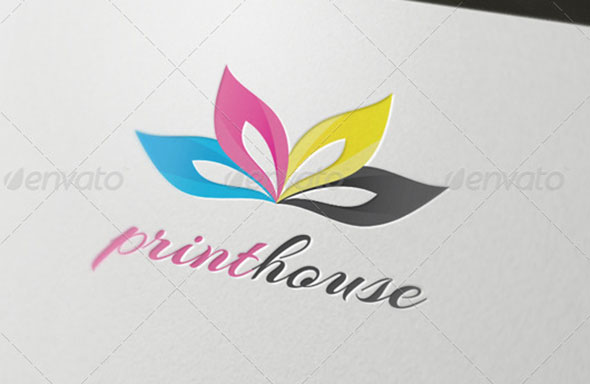 Print House Abstract Logo Template