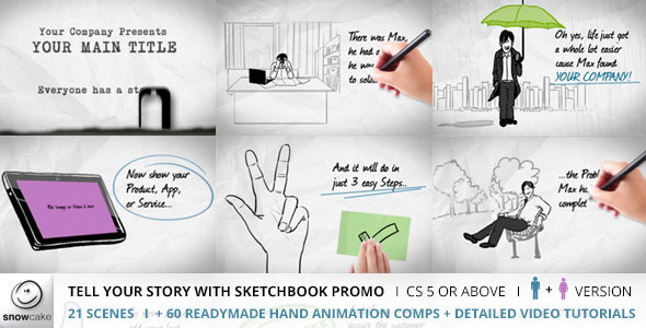 Tell Your Story With Sketchbook Promo