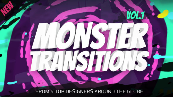 125+ Monster Transitions