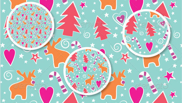 10 Seamless Christmas Patterns