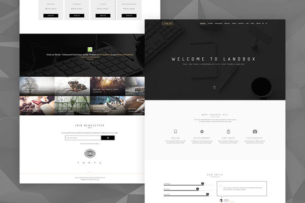 Landbox - Multipurpose Joomla Template