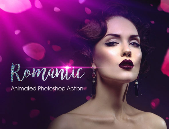 Romantic Photoshop Animated Action