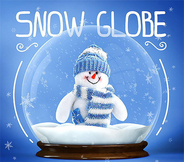 Snow Globe + Animated Snow