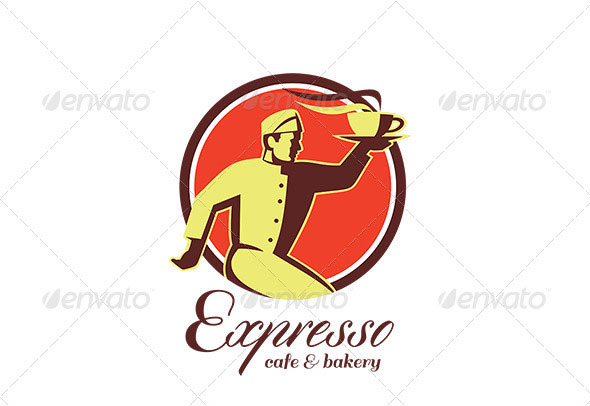 Expresso Cafe and Bakery Logo