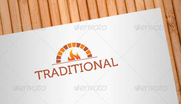 Traditional Food Logo Template
