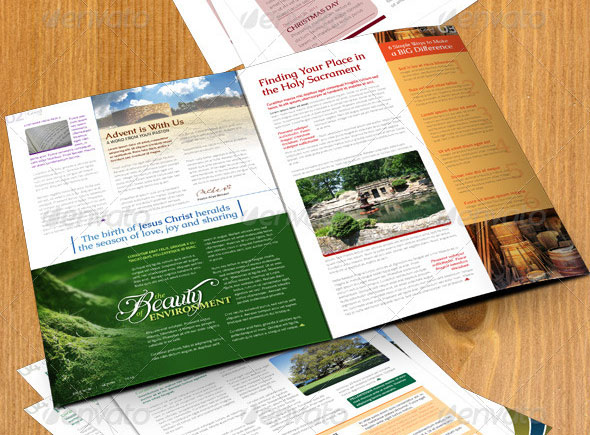 Tri-fold A4 Brochure and a 4-page A4 Newsletter