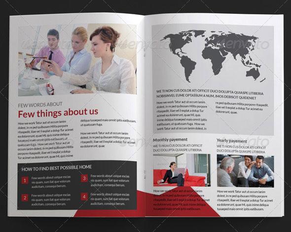 Charity A4 Brochure - InDesign Template