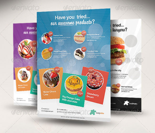 Tasty - Multipurpose/Food Products Flyer