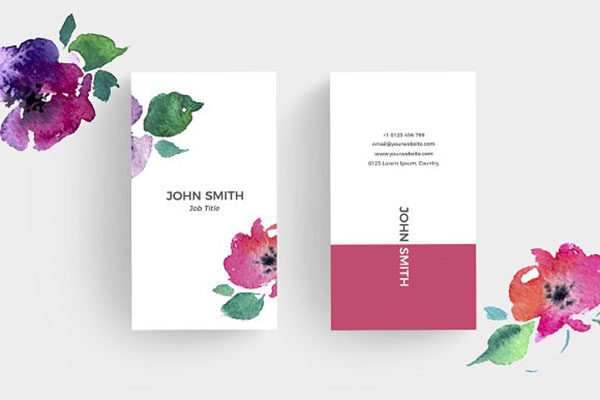 FloralMinimal Business Card 1