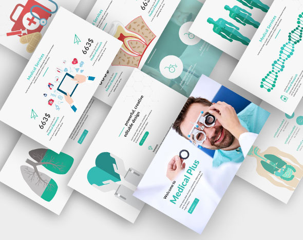 Medical Plus Keynote Template