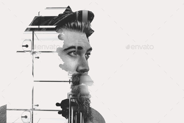 Double Exposure Template