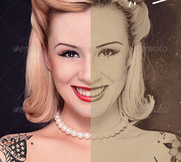 Custom Vintage Portrait