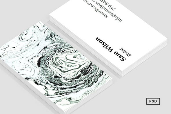 Salt Business Card Template