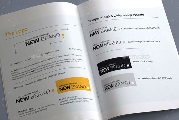 Brand Guidelines - 20 Pages