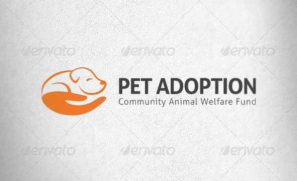 Pet Adoption Logo Template