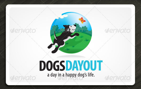 DogsDayOut - Illustrative Mark for Dog & Pet Biz