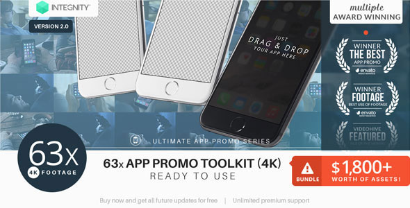 The Ultimate App Promo - UltraHD Mockup Toolkit