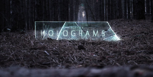 Holograms - Titles Opener