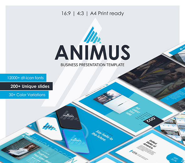 Animus Powerpoint Presentation Template