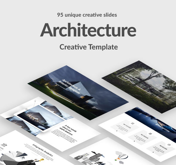 Architecture and Interior Powerpoint Template