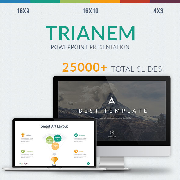 Trianem - Multipurpose Powerpoint Template