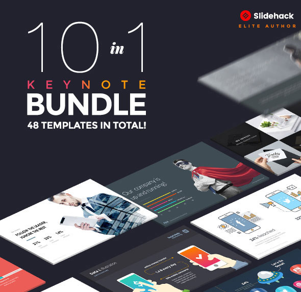 10 in 1 - Pitch Keynote Bundle