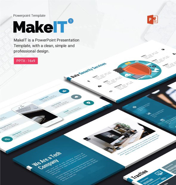 MakeIT-PowerPoint Template