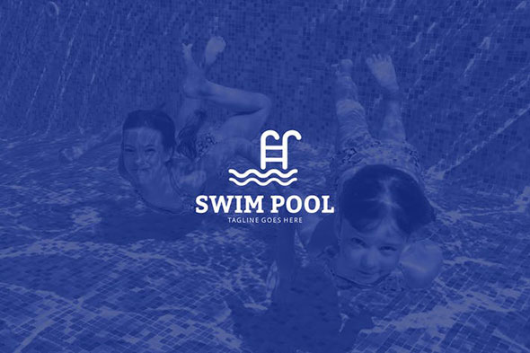 Swim Pool Logo