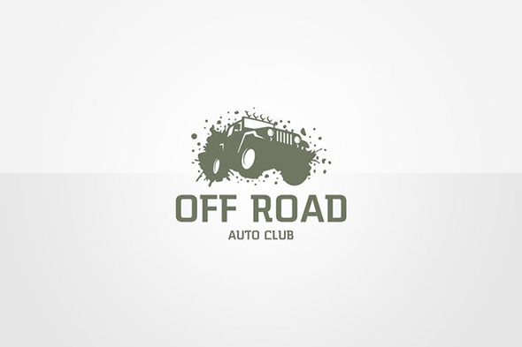 Jeep Logo Template