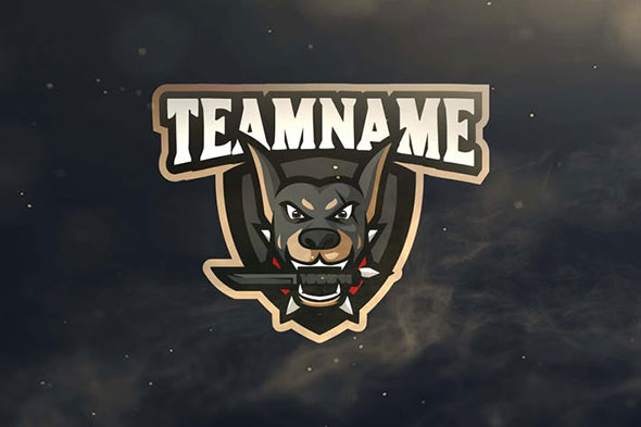 Dog Sport and Esports Logos