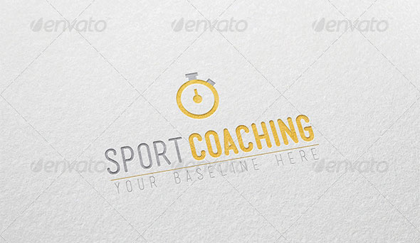 Sport Coaching - Logo template