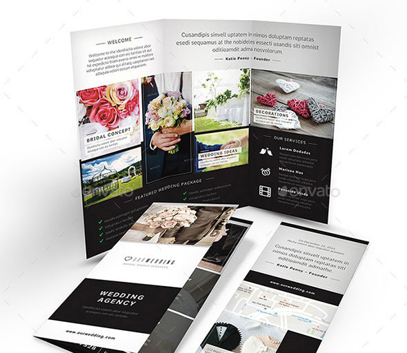 Wedding Agency Trifold Brochure