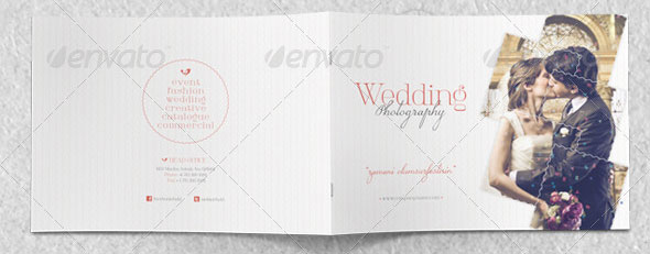 Wedding Photography Catalogue Template