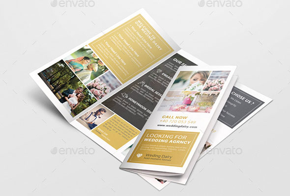Wedding Trifold Brochure