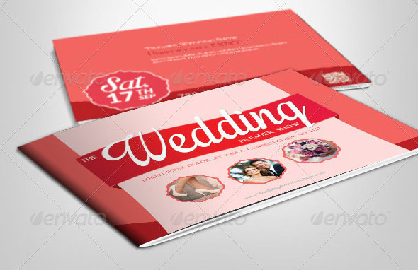 Wedding Showcase - Brochure Template