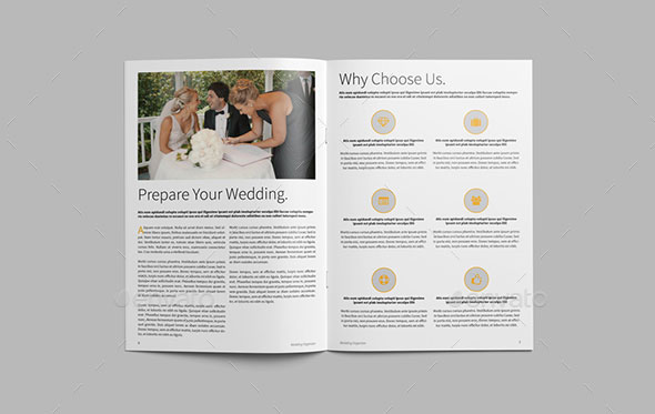 Brochure Wedding Organizer